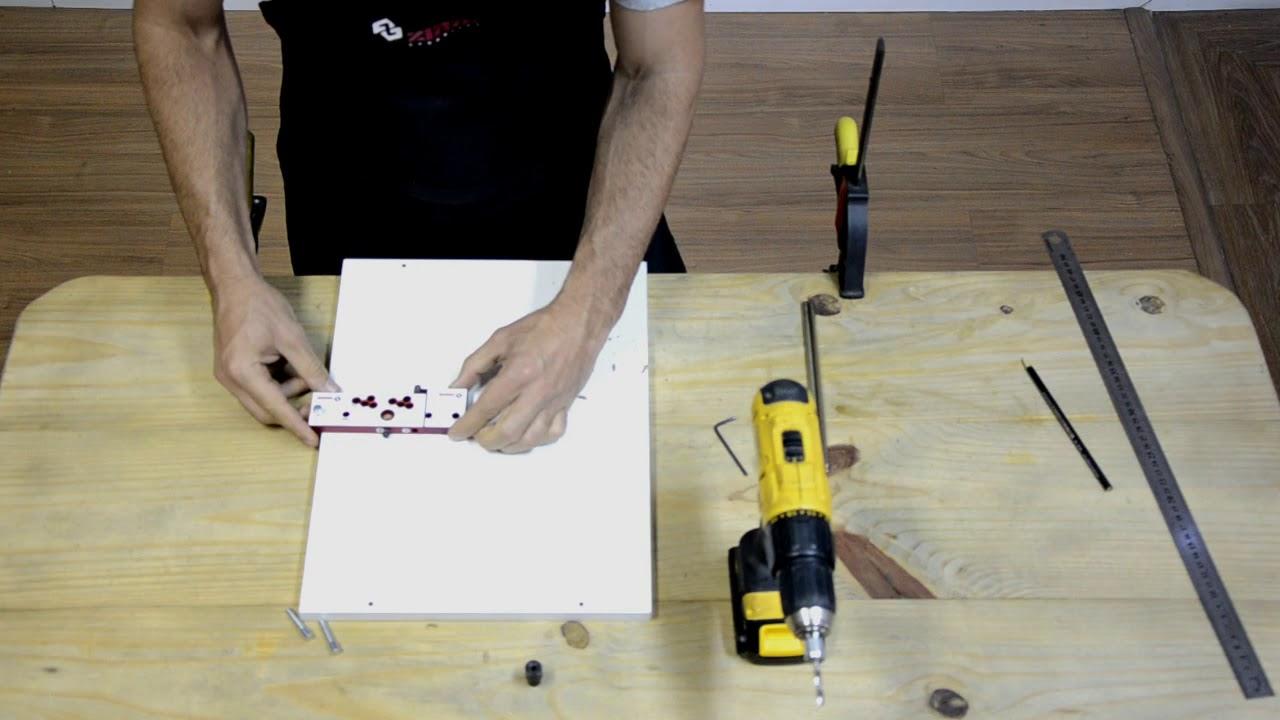 Montando Móveis com o Gabarito Rafix/VB